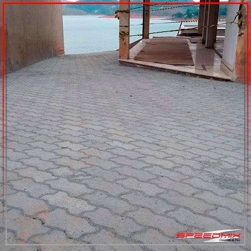 Instalação de piso intertravado sp
