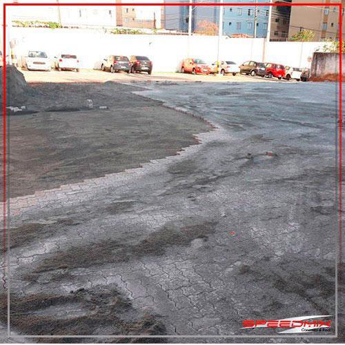 Piso para estacionamento
