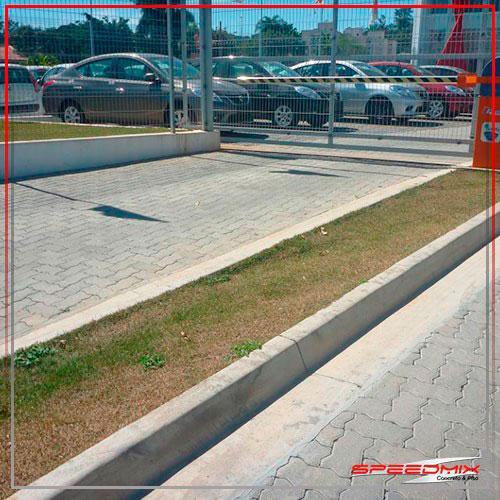 Piso intertravado para estacionamento