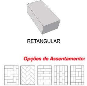Piso Retangular